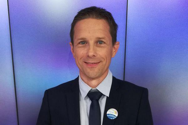 Cyril Marion (DVC), élu à L'Isle-d'Abeau en Isère