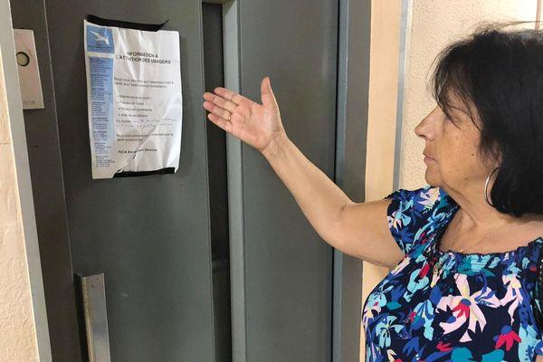 Montpellier : les mésaventures des résidents d'une copropriété privés d'ascenseur pour des semaines - août 2019.