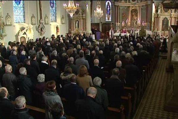 Grande affluence lors des obsèques de Jean-Marie Pelt