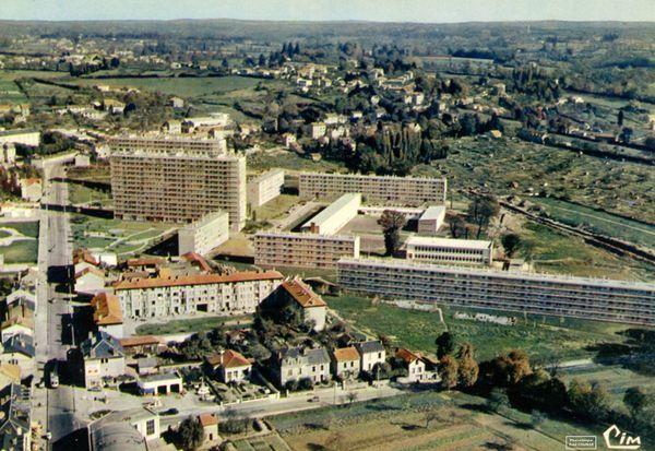 La cité du Sablard à Limoges dans les années 1970