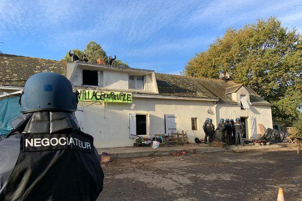 Près de 150 gendarmes étaient mobilisés ce matin