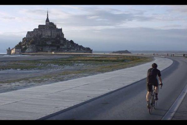 Capture du film officiel du Grand Départ 2016 dans la Manche dévoilé ce mardi
