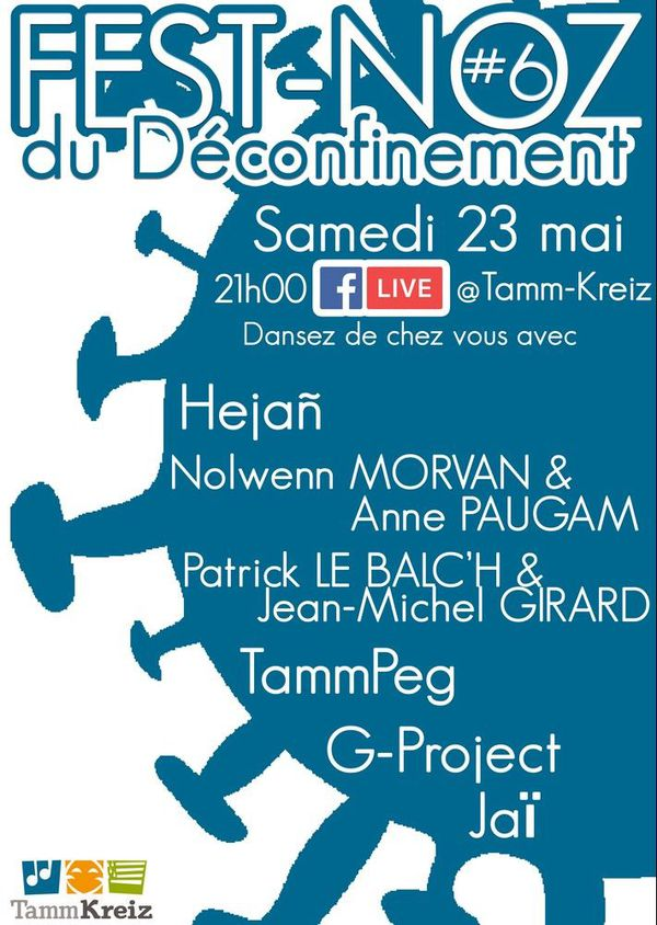 Fest-Noz du déconfinement le 23 mai 2020 à 21h