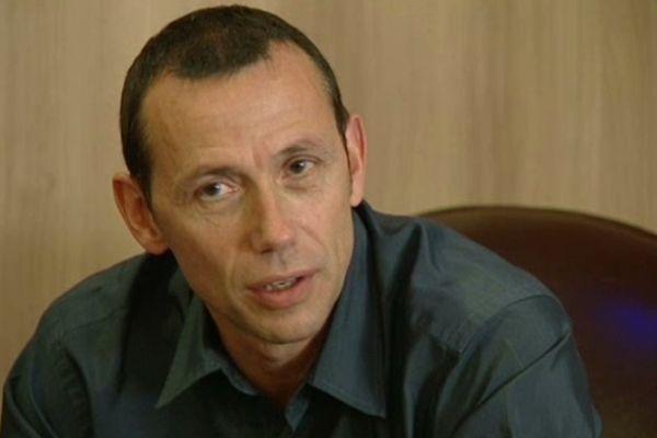 Patrice Canayer, entraîneur du MAHB - 5 octobre 2012