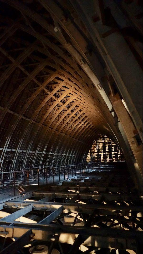Les voûtes de la cathédrale de Reims sont entièrement faites de béton