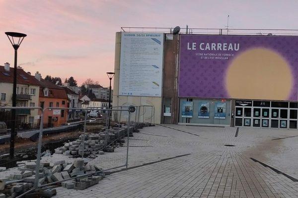 Les spectacles de nouveau annulés au Carreau-scène nationale de Forbach en raison de la crise sanitaire.