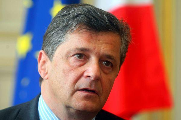 Nicolas Forissier, à Strasbourg, en mars 2010.