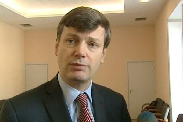 Eric Freysselinard - préfet de l'Aude - 15 février 2013.