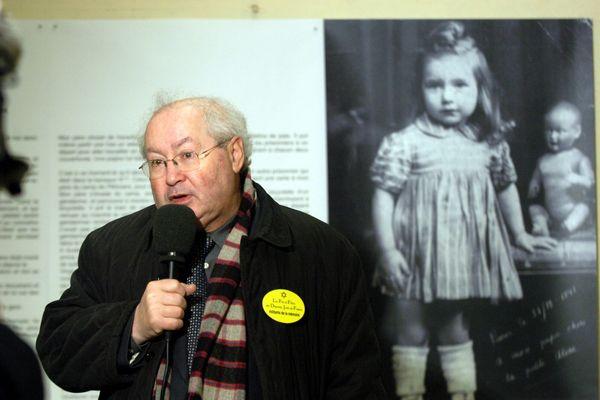 Serge Klarsfeld, président des Fils et filles de déportés juifs de France, a été l'un des soutiens majeurs du Cercil à sa création en 1991. Photo d'illustration