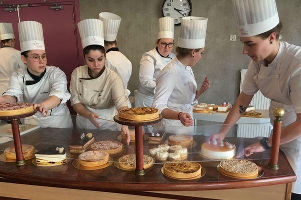 Les élèves du lycée hôtelier Raymond Mondon de Metz