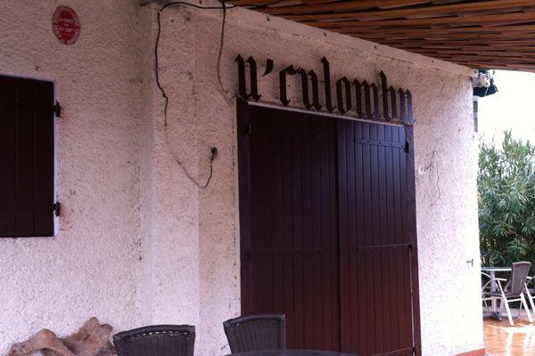 Le Bar U Culombu devant lequel a été commis le crime.