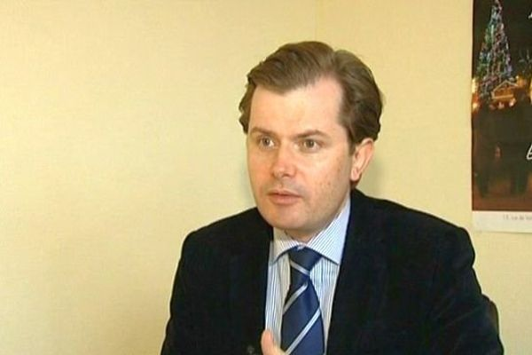 Guillaume Larrivé, député UMP de la 1re circonscription de l'Yonne