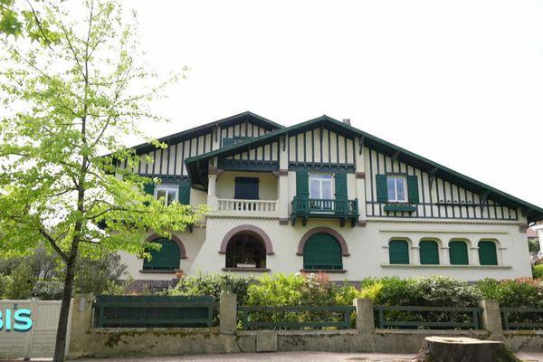 Maison conçue par l'architecte Albert Pomade à Dax