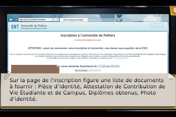 L'université de Poitiers a lancé un jeu en ligne pour aider ses futurs étudiants à préparer leur arrivée sur le campus.