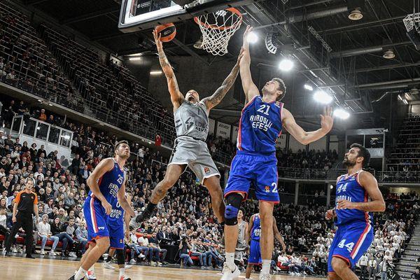 Euroligue de basket : l'ASVEL perd pour la première fois à