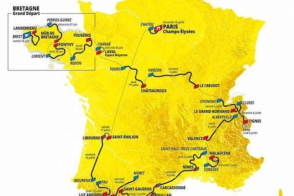 Le Tour de France va passer une semaine dans la région Occitanie.