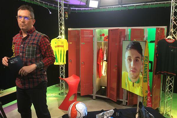 Sébastien Corchia, joueur du FC Nantes, invité d'Anthony Brulez dans #USBFOOT