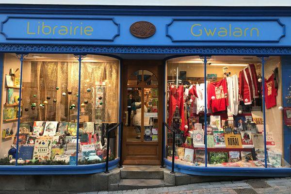La librairie Gwalarn de Lannion