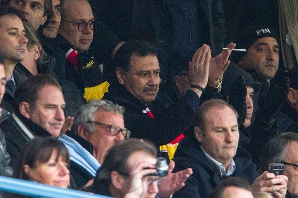 Hafiz Mammadov à Lens le 23 novembre 2013.