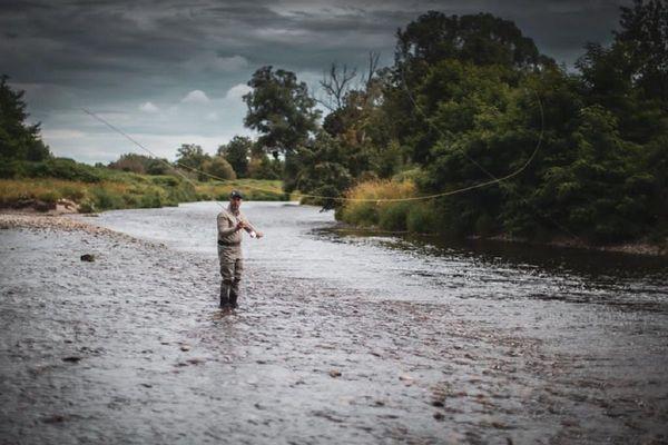 Passionné de pêche, Philippe Koehler est parvenu à trouver des emplacements à moins d'un kilomètre de chez lui.