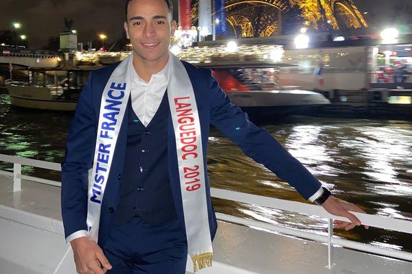 Zinédine Aoufi a été élu Mister Languedoc 2019. Il est en route vers le concours Mister France 2020.