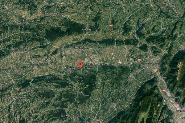 Saint-Siméon-de-Bressieux en Isère.