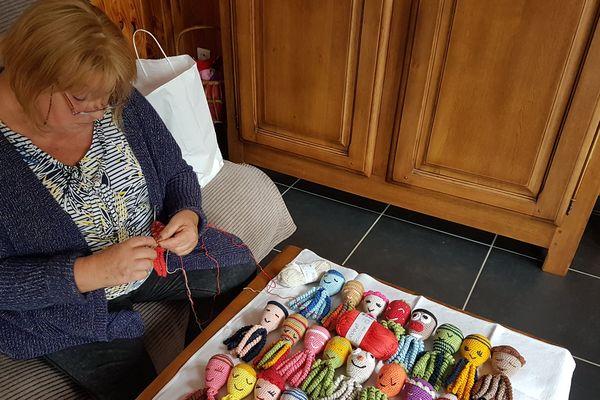 Agnès Sasso, tricoteuse de pieuvres