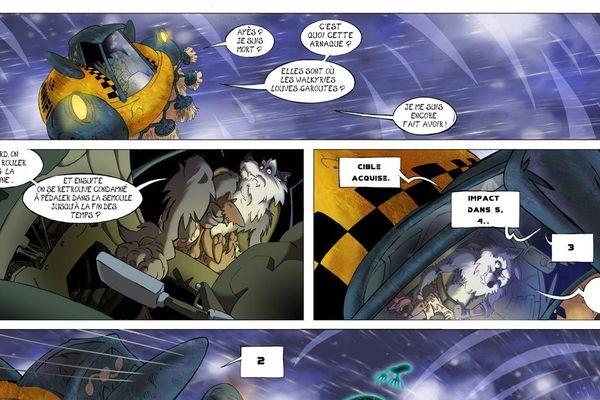 """Les premières pages de la bande dessinée """"Blwarg"""" sont disponibles en ligne."""
