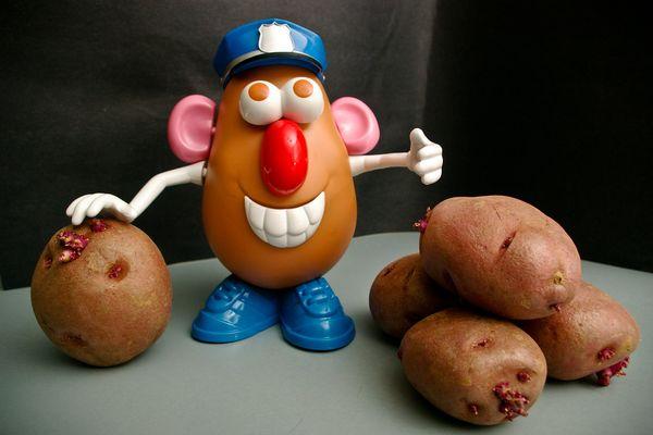 Une patate en météorologie désigne une très grande zone de hautes pressions.