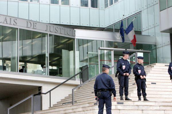 Le Palais de Justice de Pontoise, dans le Val-d'Oise.