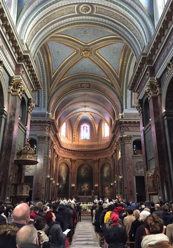 2 ans de travaux ont été nécessaire pour restauré la basilique de la Daurade à Toulouse