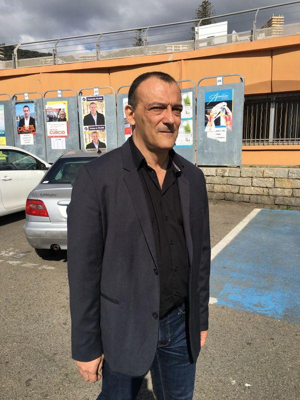 "Jean-Marc Lanfranchi, tête de liste ""Aiacciu in Cori"""