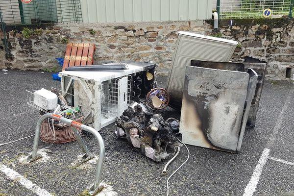 Incendie de sèche-linge à Bourganeuf