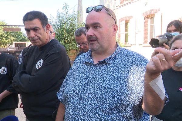 Malgré de gros soucis de santé, Nicolas Demajean a décidé de faire une grève de la faim pour alerter sur la situation de son refuge.