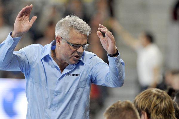Thierry Anti, l'entraîneur du HBC Nantes, en octobre 2015.