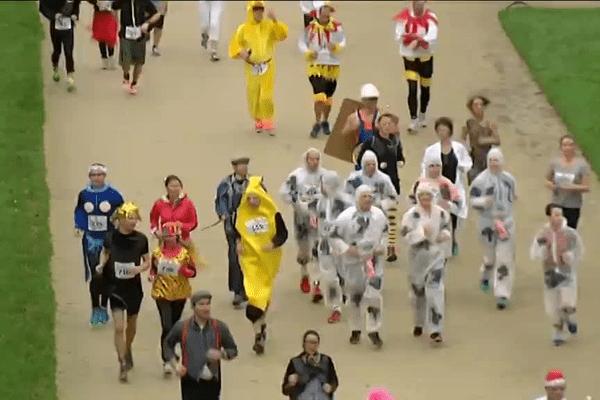 750 participants au départ de la cavalcade de Vannes