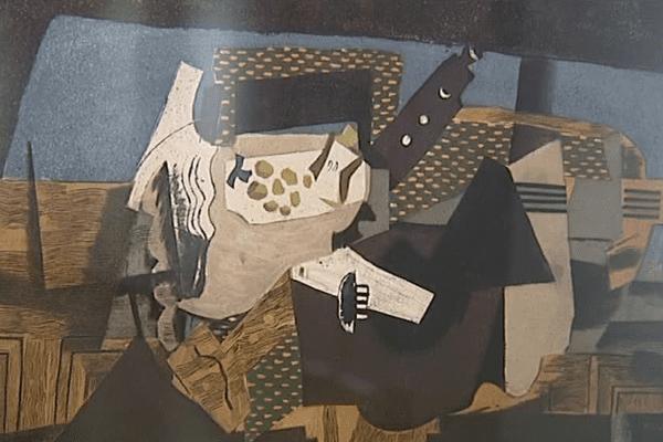 Une oeuvre de Georges Visat