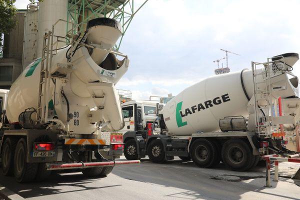 Le groupe Lafarge prévoit une production de 80.000 mètres cubes de béton par jour sur son site du port de Javel. Image d'illustration.