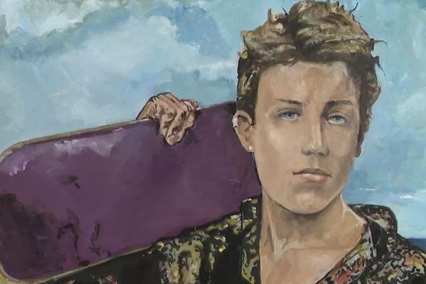Arthur Rimbaud vu par Charlélie Couture.