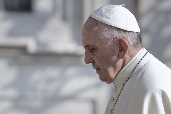 Le Pape le 19 septembre dernier.