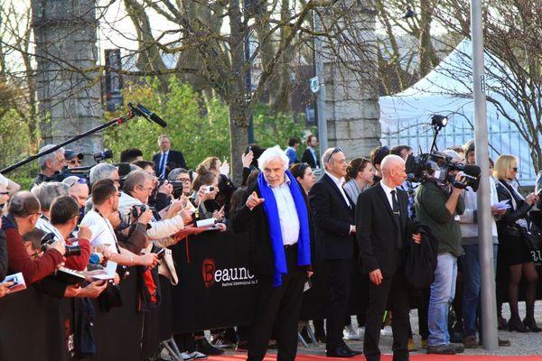 Jacques Weber, président du Jury Sang Neuf, à la cérémonie d'ouverture du festival du film policier de Beaune 2017