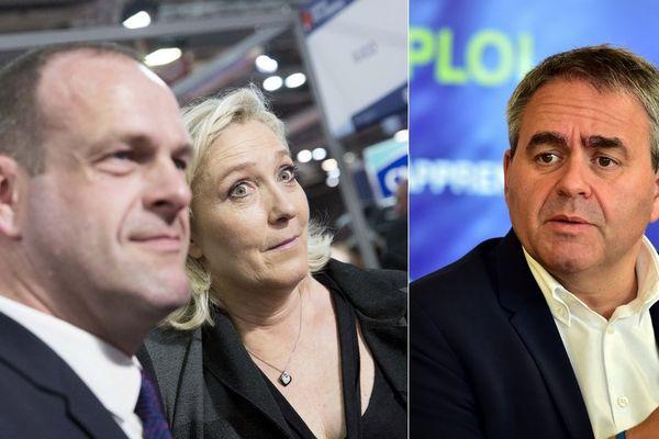 """Xavier Bertrand dénonce l'attitude du Front National à l'égard du film """"Chez Nous""""."""