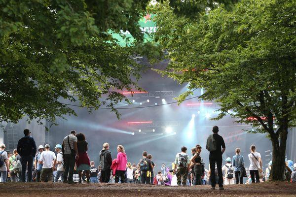 La Greenroom l'une des 4 scènes des Eurockéennes