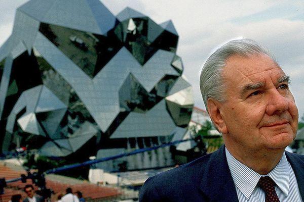 René Monory, père du Futuroscope - 1999