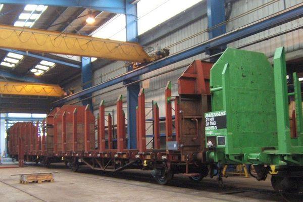 La réparation de wagons aux ABRFi de Châteaubriant