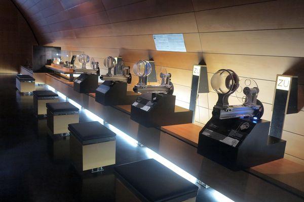 Musée de la lunette à Morez.