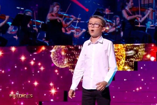 Le jeune prodige de Reims, Armand Mathieu, 12 ans, le 1er décembre sur France 2.