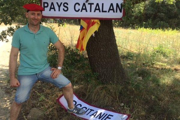 """Un collectif milite pour que le nom """"Pays Catalan"""" soit accolé à celui dela Grande région """"Occitanie""""."""
