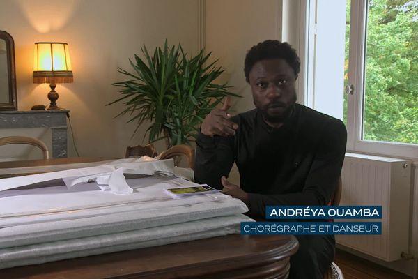 Andréya Ouamba, chorégraphe et danseur