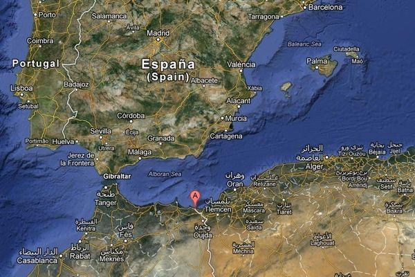 Le naufrage a eu lieu sur la côte du Maroc à hauteur de Saïdia.